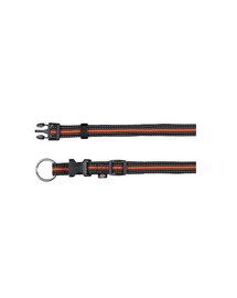 "TRIXIE Nyakörv ""Fusion collar"" 40 – 65 cm - 25 mm fekete - narancssárga"