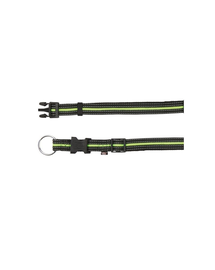 TRIXIE Nyakörv S - M  30–45 cm - 17 mm fekete - zöld