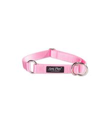 AMIPLAY Szalagos szorító nyakörv 3n 26 - 48 - 2 cm rózsaszín