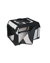 TRIXIE Szállító box vario nylon fekete-szürke 91 × 58 × 61 cm