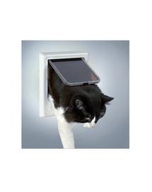 TRIXIE Ajtó 'freecat de luxe, elektromágneses, macskáknak, fehér