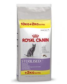 ROYAL CANIN sterilised 37 10 kg + 2 kg