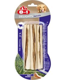 8IN1 Jutalomfalat beef delights bone sticks 3 db