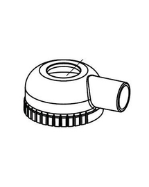 AQUAEL Zárófedél szűrőhöz fan 3 plu