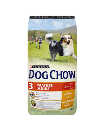 PURINA Dog Chow Mature Adult 5+ csirke 14 kg