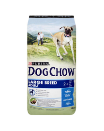 PURINA Dog Chow Adult Large Breed pulyka 14 kg