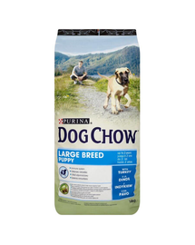 PURINA Purina dog chow puppy large breed pulyka 14 kg