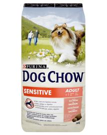 PURINA Dog Chow Adult Sensitive lazac 14 kg