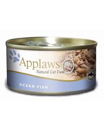 APPLAWS Konzerv macskáknak oceáni hal 156 g