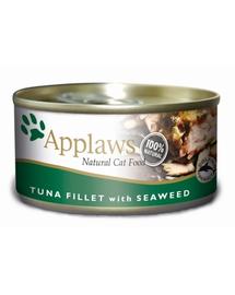 APPLAWS Konzerv macskáknak tonhal algákkal 156 g