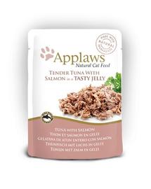 APPLAWS Tasak macskáknak tonhal és lazac aszpikban 70 g