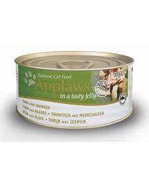 APPLAWS Konzerv macskáknak tonhal algákkal aszpikban 70 g