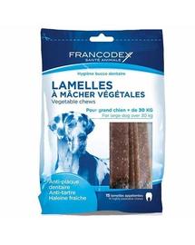 FRANCODEX Nagy csíkok eltávolítják a fogkövet és a kellemetlen szájszagot  490 g-15 csík