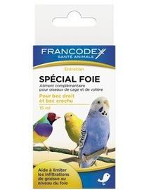 FRANCODEX Készítmény madaraknak máj védelme 15 ml