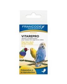 FRANCODEX Vitaminok segítik a termékenységet és a szaporodást madaraknál 15 ml