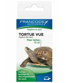 FRANCODEX Folyadék szem tisztításhoz teknősöknek 15 ml