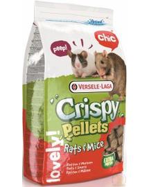 VERSELE-LAGA Crispy Rats-Mice Omnivores Big Pellet 20kg  Granulátum patkányoknak és egereknek