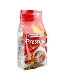 VERSELE-LAGA Prestige Snack Canaries 125 g - piskótával és gyümölcsökkel kanáriknak