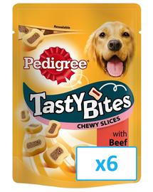 PEDIGREE Tasty Bites Chewy Slices 6x 155Gr