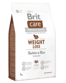 BRIT Care Weight Loss Rabbit & Rice 3 kg