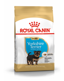 ROYAL CANIN YORKSHIRE TERRIER JUNIOR - Yorkshire Terrier kölyök kutya száraz táp 7,5 kg