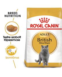 ROYAL CANIN BRITISH SHORTHAIR ADULT - Brit rövidszőrű felnőtt macska száraz táp 10 kg