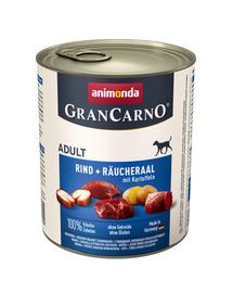 ANIMONDA Grancarno füstölt angolna - krumpli 400g