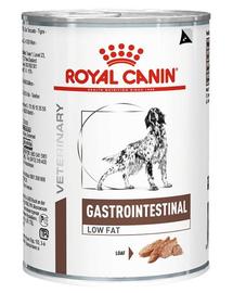ROYAL CANIN Dog gastro intestinal low fat konzerv 410 g
