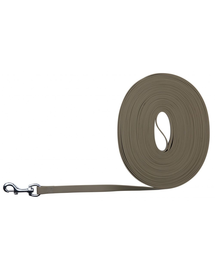 TRIXIE Easy Life Tracking Leash, 15 M-17 mm, Taupe