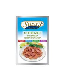 STUZZY Sterilized - csirkével sterilizált macskáknak, ch 100G