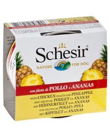 SCHESIR Fruit Csirke ananásszal 150G