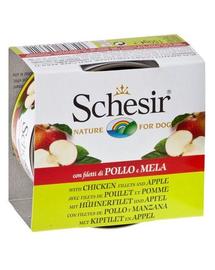 SCHESIR Fruit Csirke almával 150G