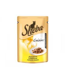 SHEBA Selection in Sauce csirkével 85g