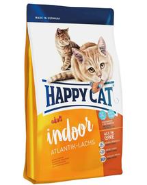 HAPPY CAT Indoor Adult Atlantik-Lachs (Atlanti-óceáni lazac) 4 kg