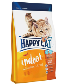 HAPPY CAT Indoor Adult Atlantik-Lachs (Atlanti-óceáni lazac) 10 kg
