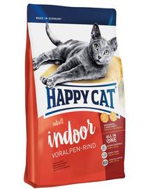 HAPPY CAT Indoor Adult Voralpen-Rind (Alpesi marha) 1,4 kg