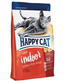 HAPPY CAT Indoor Adult Voralpen-Rind (Alpesi marha) 10 kg