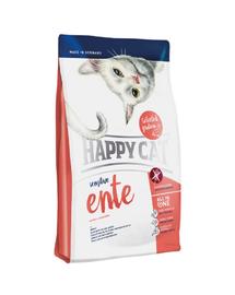HAPPY CAT Sensitive Ente (Kacsa) 4 kg