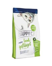 HAPPY CAT Sensitive Land-Geflügel (Bio Baromfi) 4 kg