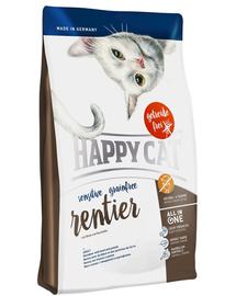HAPPY CAT Sensitive Grainfree szarvas 300 g