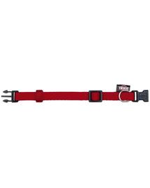 TRIXIE Prémium nyakörv, S–M: 25–40 cm-15 mm, piros
