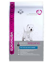 EUKANUBA Adult Breed Specific West Highland Terrier Chicken 2,5 kg