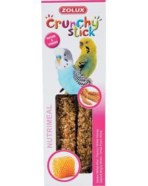 ZOLUX Crunchy Stick kicsi papagáj köles-méz 85 g
