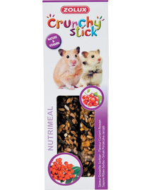 ZOLUX Crunchy Stick Hörcsög ribizli-berkenye 115 g