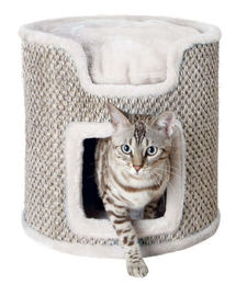 TRIXIE Torony macskáknak Ria 37 cm világos szürke