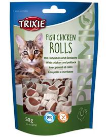 TRIXIE Gyűrűk csirke lazaccal 50g  42702