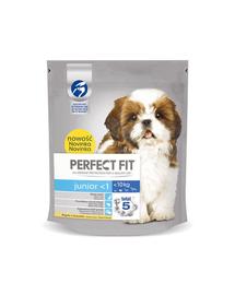 PERFECT FIT Junior <1 csirkében gazdag eledel kisméretű kutyáknak 5 x 825 g