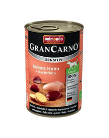ANIMONDA Grancarno Sensitive Konzerv csirke krumplival 800 g