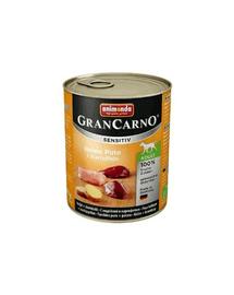 ANIMONDA Grancarno Sensitive Konzerv pulyka krumplival 800 g