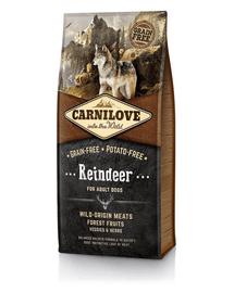 CARNILOVE kutya Adult szarvas 12 kg